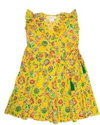 Toddler Girls Masalababy Ayla Floral Wrap Dress