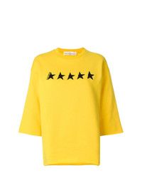 Golden Goose Deluxe Brand Star Embroidered Sweater