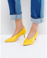 Asos Suzie Pointed Kitten Heels