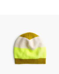 J.Crew Striped Cashmere Hat