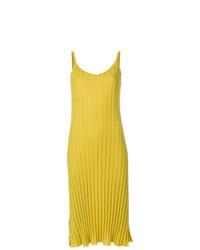 Marni Ribbed Knit Slip Dress