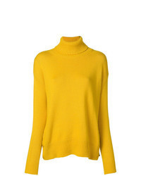 Yellow Knit Turtleneck