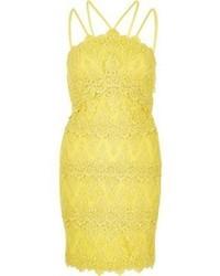 River Island Yellow Cornelli Dress