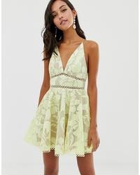 ASOS DESIGN Cami Prom Midi Dress With Sequint