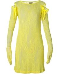 Walter Van Beirendonck Vintage Fetish For Beauty Lace Dress