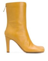 Bottega Veneta Square Toe Boots