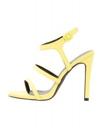 New Look Stunned High Heeled Sandals Bright Yellow