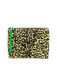 Marni Leopard Print Clutch Bag