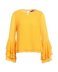 Iben blouse yellow medium 4270874
