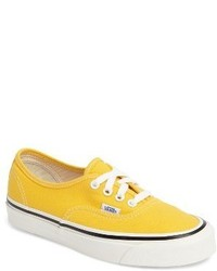 Yellow Low Top Sneakers