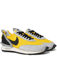 Nike Undercover Daybreak Leather Trimmed Nylon And Suede Sneakers