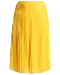 Pleated skirt sulphur medium 3904810