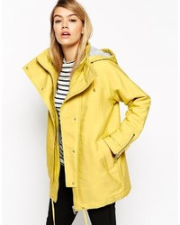 Collection parka in cocoon fit with contrast liner medium 373353