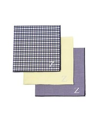Yellow Plaid Pocket Square