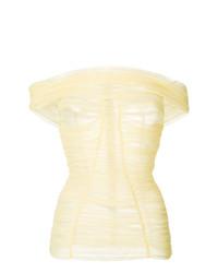 Dolce & Gabbana Off Shoulder Top
