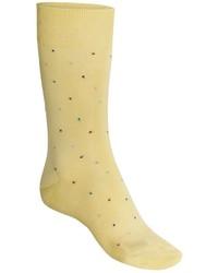 Yellow Polka Dot Socks