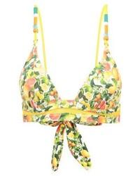 Stella McCartney Bikini Top Yellow