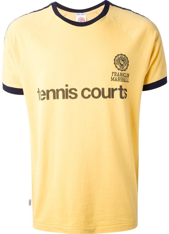 3a7fa08d9 Franklin & Marshall For Rush Printed T Shirt, £45   farfetch.com ...