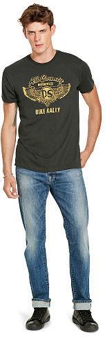 9fbddd8a3 Denim & Supply Ralph Lauren Ralph Lauren Denim Supply Cotton Jersey Graphic  Tee, £23   Ralph Lauren   Lookastic UK