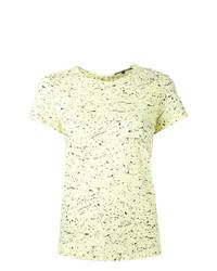 Proenza Schouler Splatter Print T Shirt