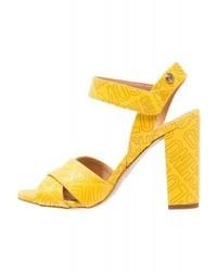 Moschino Sandals Yellow