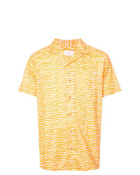 Onia Graphic Print Shirt