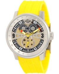 Yellow Rubber Watch