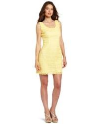 Yellow sheath dress original 9813672