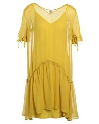 Baum Und Pferdgarten Aili Summer Dress Oil Yellow