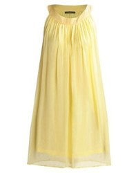 Esprit Luxe Cocktail Dress Party Dress Light Yellow