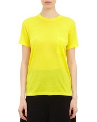 Yellow Short Sleeve Sweater