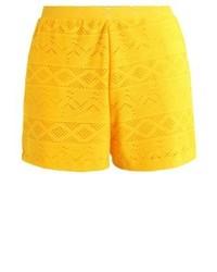 Anna Field Shorts Spectra Yellow