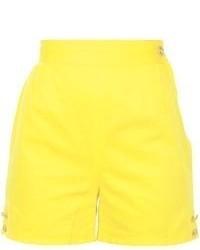 Versace Vintage Button Detail Shorts
