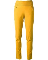 Yellow Skinny Pants