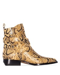 Chloé Rylee 30mm Snake Effect Ankle Boots