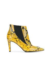 Zadig & Voltaire Zadigvoltaire Snakeskin Effect Boots