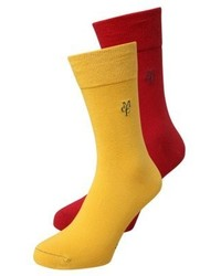Larsen 2 pack socks dunkelrot medium 4273175