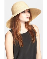 Sage raffia straw hat medium 394936