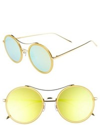 Gentle Monster 52mm Round Sunglasses