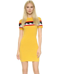 Dsquared2 Short Sleeve Knit Dress