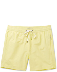 Onia Charles Mid Length Cotton Blend Swim Shorts
