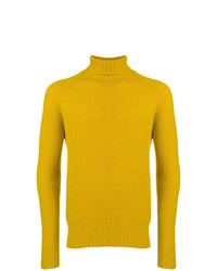 Drumohr Roll Neck Fitted Sweater