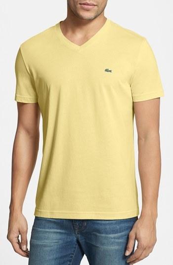 22c803a0 Lacoste V Neck T Shirt, £38   Nordstrom   Lookastic UK