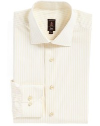 Robert Talbott Trim Fit Stripe Dress Shirt