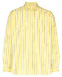 Sunnei Striped Pattern Shirt