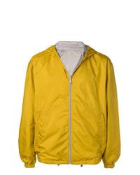 Prada Hooded Zipped Lightweight Jacket