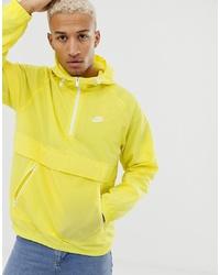 Nike Woven Jacket In Yellow